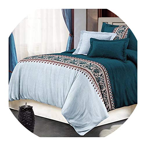 Pillowcase Standard Barry - Barry-Home Beddings 2/3Pcs Bedding Set Pillowcase 48x74cm Printed Beding Set Polyester Duvet Cover Sets Full Queen King Size Sj89,08,Eudouble,No Sheet