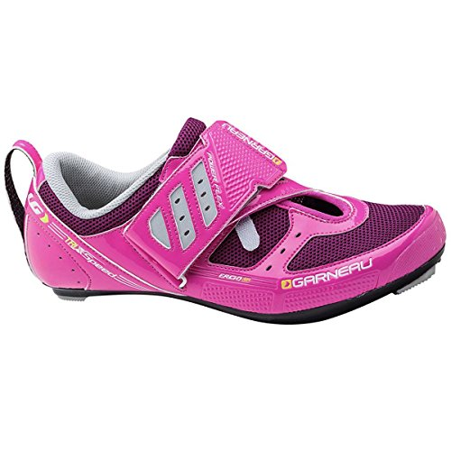 Louis Garneau Women's Tri X-Speed II Cycling Shoes, Pink Glow, 37