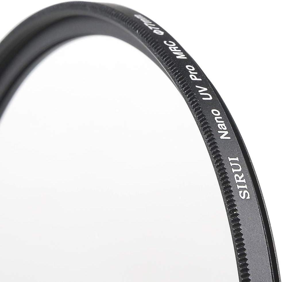 Filtro ultraplano de Aluminio S-Pro Nano MC UV 37 mm Sirui SUUV37A Color Negro