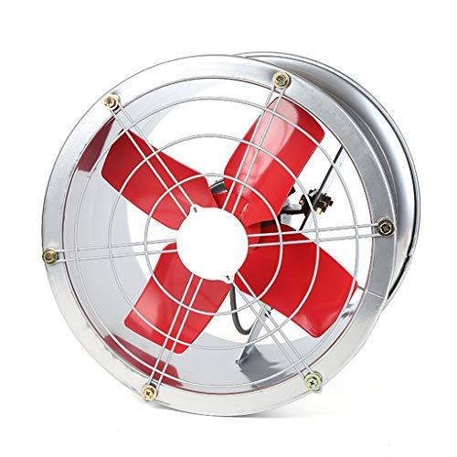ZHAOSHUNLI Extractor de aire Ventilador de escape Tubo del cilindro del ventilador de ventilación Potente ventilador de...