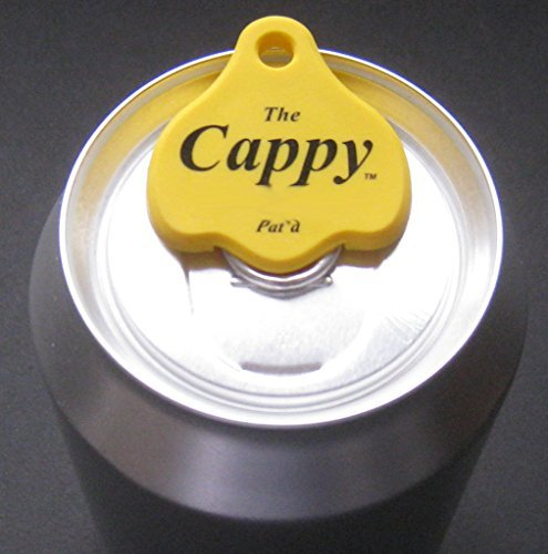 The Cappy Beverage Can Closers & Openers (Set of 4)