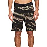 Volcom Men's Big and Tall Pipe Pro Mod 20'' Boardshort, Camouflage, 44