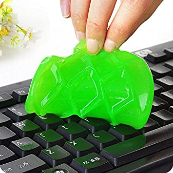 5pcs/set cristal polvo Limpieza pegamento Slimy Gel limpiaparabrisas limpia herramienta para teclado portátil para limpieza de coches esponja coche ...