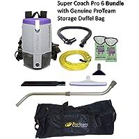 ProTeam Pro 6 Backpack Vacuum (Telescoping Wand Kit Duffel)