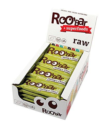 Roobar hemp protein und chia, 10er Pack (10 x 30 g)