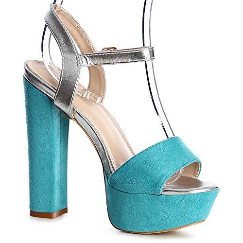 topschuhe24 - Zapatos de vestir para mujer turquesa