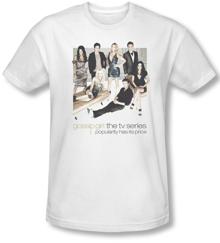 Gossip Girl - Mens Sitting Around T-Shirt In White