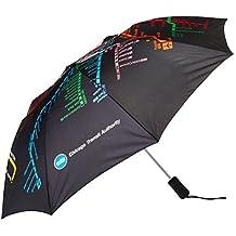C.T.A. Auto Open Umbrella, CTA Subway, One Size