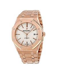 Audemars Piguet Royal Oak Automatic 18kt Rose Gold Mens Watch 15400OROO1220OR02