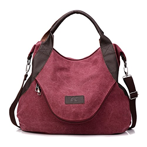 Shoulder Cross Canvas bag Pocket Blue Leather body Women's Casual Large 2018 tote Bags Handbags canvas qgTaFw