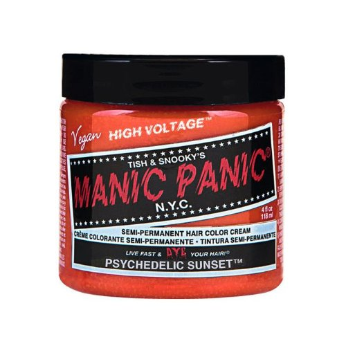 Price comparison product image Manic Panic Semi-Permanent Color Cream Psychedelic Sunset 4oz
