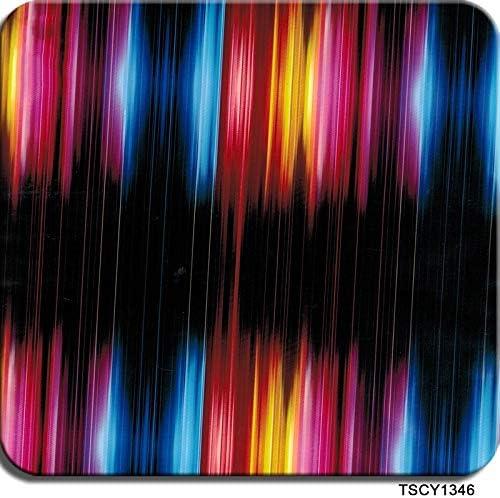 ハイドログラフィックフィルム、水転写印刷フィルム - ハイドロディップハイドログラフィックフィルム - 抽象パターン - 高解像度グラフィックスハイドロディップフィルム0.5メートルマルチカラーオプション (Color : TSCY1346, Size : 0.5mx6m)