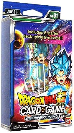 Bandai BCLDBST7177andnbsp;Il risveglio Dragonball Super Card Game Starter Deck