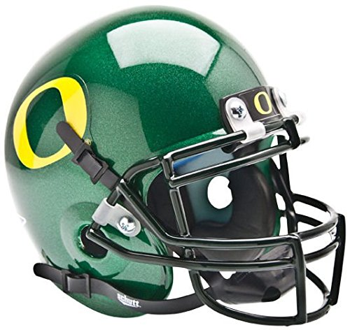 NCAA Oregon Collectible Mini Football Helmet (Oregon Ducks Football Helmet)