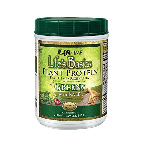 Lifetime Life's Basics Plant Protein with Greens, 1.29 lbs by Lifetime