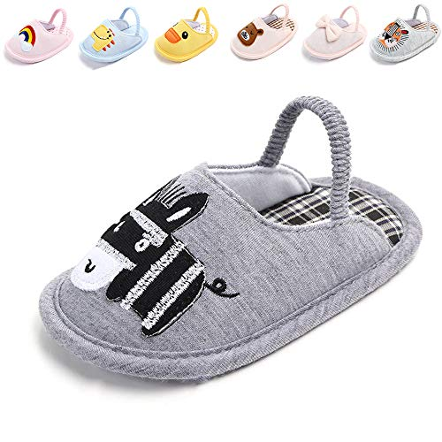 e42012b192b70 BiBeGoi Infant Baby Boys Girls Slide Slip On Flat Sandal Summer Shoes House  Slippers Soft Sole Newborn Gift First Crib Shoes