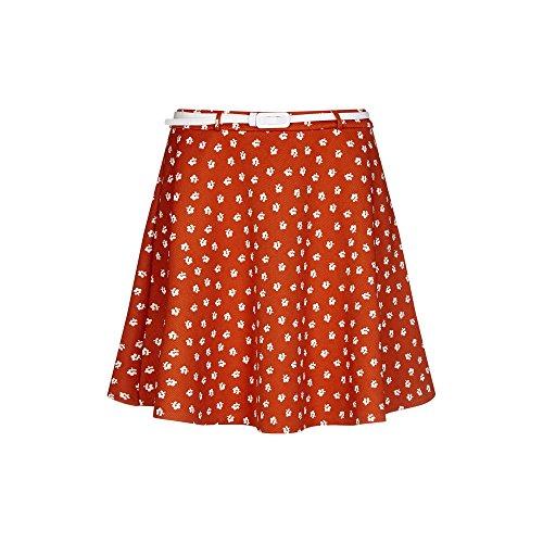 Yumi - Jupe - Femme Orange Br?l