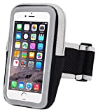 INN LIFE 88 Xi-34-Case Sports Armband, Outdoor Water Resistant Running Armband Workout Gym Casual Arm Package with Key Holder for IPhone 7 Plus/6 Plus/6S Plus/Samsung Galaxy S5/S6/S7 Edge - Black