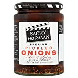 Barry Norman Pickled Onions Hot & Spicy (560g) - Pack of 2