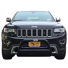 VANGUARD VGUBG-1183BK 2011-2015 Jeep Grand Cherokee Bull Bar with Skid Plate B/K