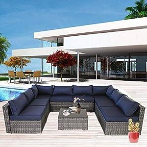 51-ODwMg5XL._SS300_ Wicker Patio Furniture Sets
