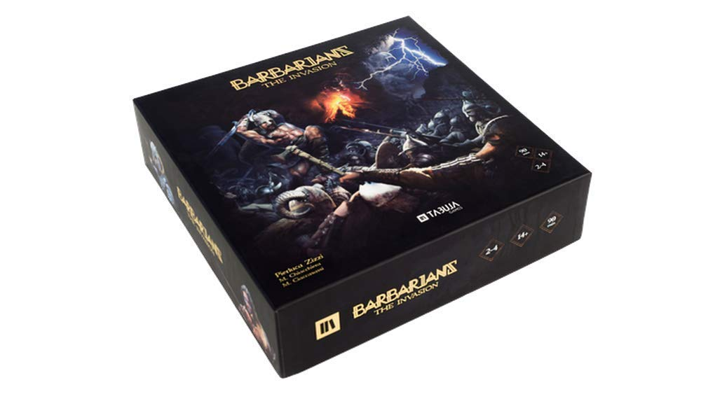 BARBARIANS   THE INVASION (Wooden Edition) Gioco da Tavolo