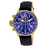 Invicta Men's 1516 I Force Collection 18k Gold Ion-Plated Stainless Steel and Cloth Watch