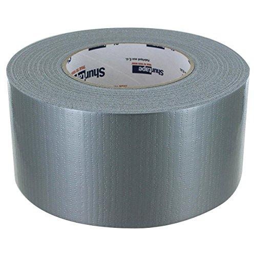 SHURGRIP PC599 Silver Duct Tape, Bulk Pack, Full Case, 72mm