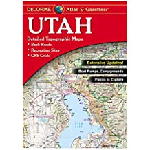 DeLorme® Utah Atlas & Gazetteer (Delorme Atlas & Gazetteer)