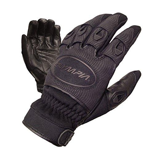 Olympia Womens Glove - Olympia 755 Ventor Ladies Motorcycle Gloves (Black, Medium)