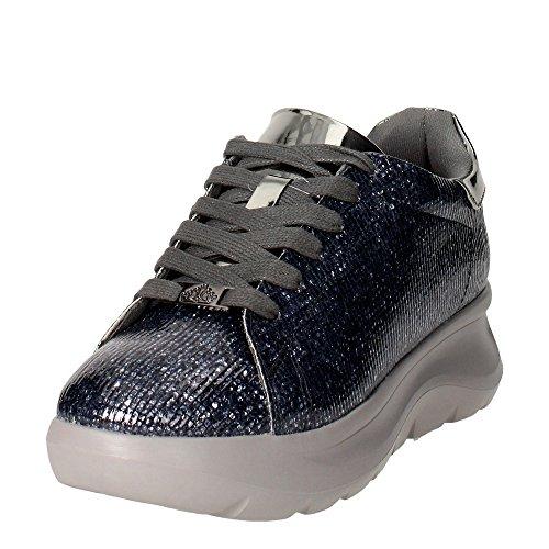Fornarina PIFVH9545WIA9000 Zapatillas De Deporte Mujer Cuero Sintético Gris Gris