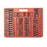 Zoostliss 110PCS Bearing Steel Metric Tap and Die Set