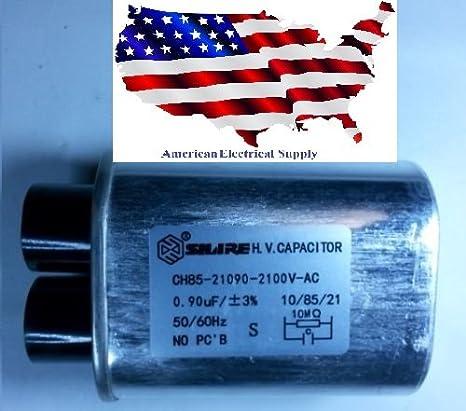 Amazon.com: horno microondas H.V Condensador de alta tensión ...
