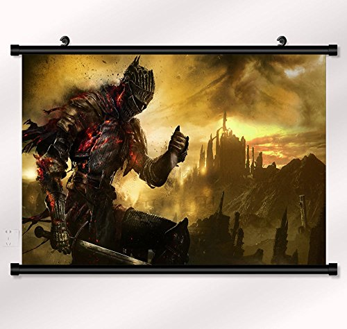 Dark Souls 3 Wall Scroll Poster Limited Edition