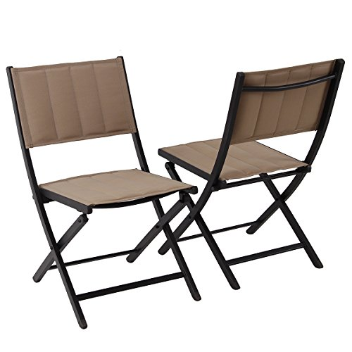 PHI VILLA Patio Padded Folding Chairs Extra Large Portable for Outdoor C&ing Dining Chairs 2  sc 1 st  The Hour Magazine & PHI VILLA Oversize Patio Folding Chairs Indoor Outdoor Portable ...