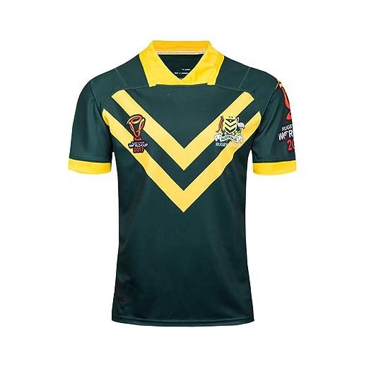Rugby de Australia Ventilador Jersey 2017 Copa Mundial de Soporte ...