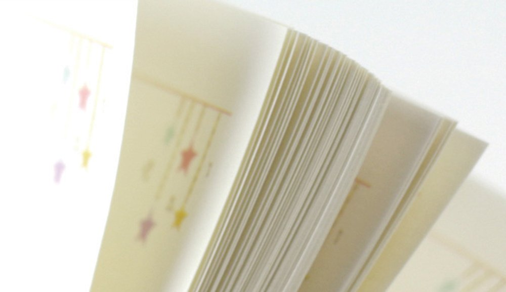 Amazon.com: A5 papel de recambio colorido de dibujos ...