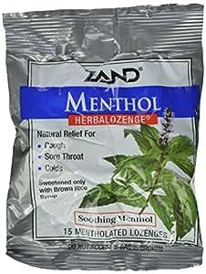 Zand Herbalozenge, Menthol, 15 Count (Pack of 3)