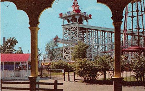 Chicago Illinois Riverview Amusement Park Vintage Postcard J23397