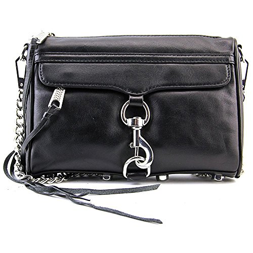 Rebecca Minkoff Mac Mini Leather Shoulder Bag, Black by Rebecca Minkoff