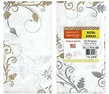 DDI 2185002 Bella Vite Shimmer - Bistro Napkin - 14-Packs Case of 36