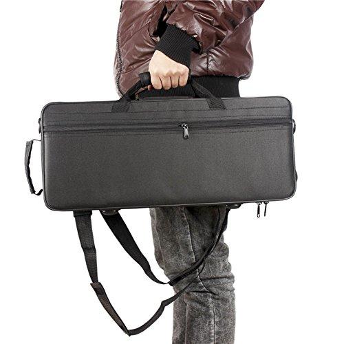 Bolsa de Trompeta,Trompeta Gig Bag 600D Case Box Oxford Tela Resistente al Agua Mochila con Ajustable Doble Hombro Correa de...