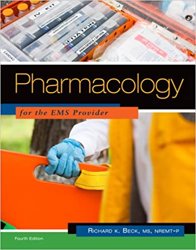 Book Pharmacology for the EMS Provider