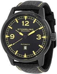 Stuhrling Original Men's Sportsmans Tuskegee Warhawk Watch Black 129XL.335565