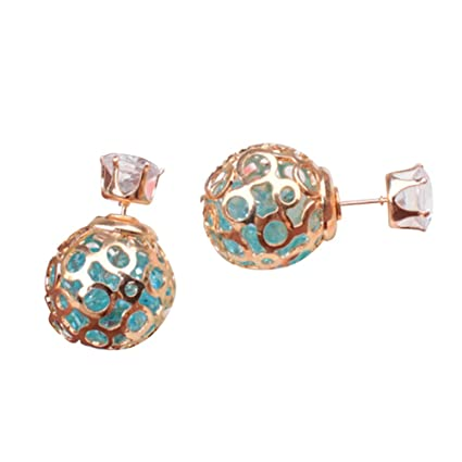 aae3dec35022 Amazon.com: angel3292 Clearance Deals Women Fashion Hollow Ball Ear ...