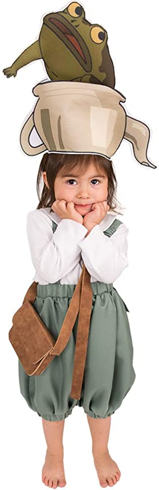 Coskidz Children's Gregory Cosplay Costume for Kids with Teapot Hat