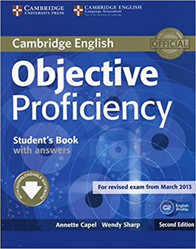 Objective proficiency students book with answers with downloadable objective proficiency students book with answers with downloadable software annette capel wendy sharp 9781107646377 amazon books fandeluxe Choice Image