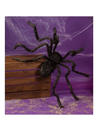 Posable Hairy Spider Assorted Colors 50