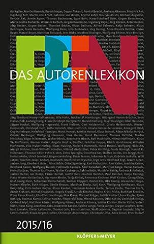 PEN Das Autorenlexikon 2015 / 16 (German Edition) (Meyers Lexikon)