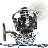 Zoostliss Spinning Fishing Reels Big Fish Reel Freshwater Inshore Saltwater with Gear Ratio 5:2:1 Left/Right Interchangable Collapsible Handle Reel (3000)